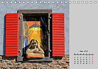 Blickfänge - Tore, Türen und Fenster (Tischkalender 2019 DIN A5 quer) - Produktdetailbild 3
