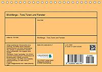 Blickfänge - Tore, Türen und Fenster (Tischkalender 2019 DIN A5 quer) - Produktdetailbild 13
