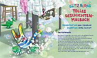 Blitz Blong - Mein tolles Geschichten-Malbuch - Produktdetailbild 1