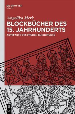 Blockbücher des 15. Jahrhunderts, Angelika Merk