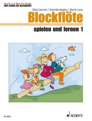 Blockflöte spielen und lernen, Kinderheft, Gila Czermin, Desirée Kegley, Maria Loos