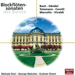 Blockflötensonaten des Barock, Michala Petri