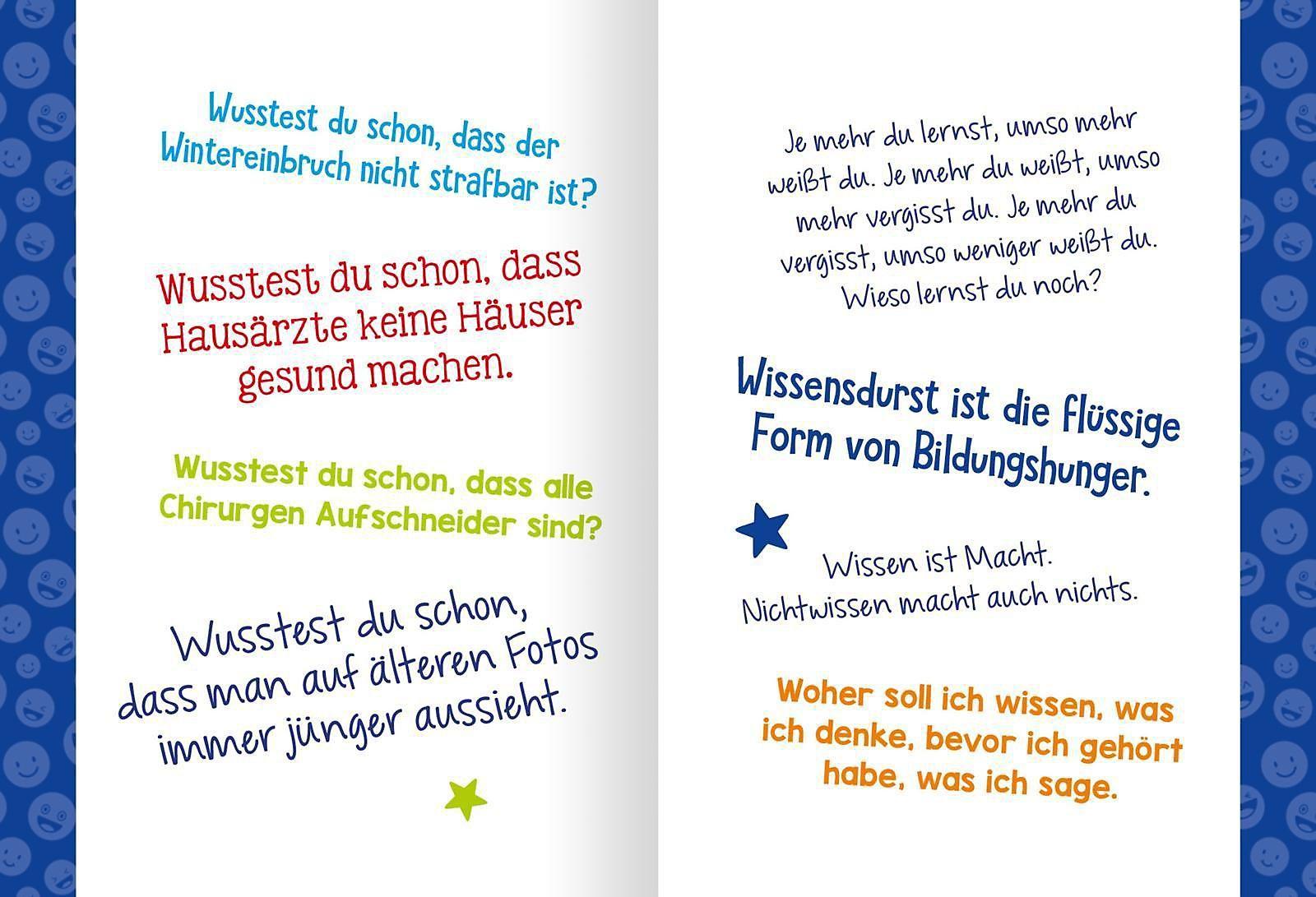 Blöde Witze Dumme Sprüche Buch Versandkostenfrei Bei