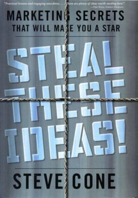 Bloomberg: Steal These Ideas!, Steve Cone