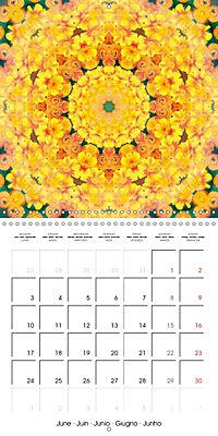 Blooming Mandalas (Wall Calendar 2019 300 × 300 mm Square) - Produktdetailbild 6