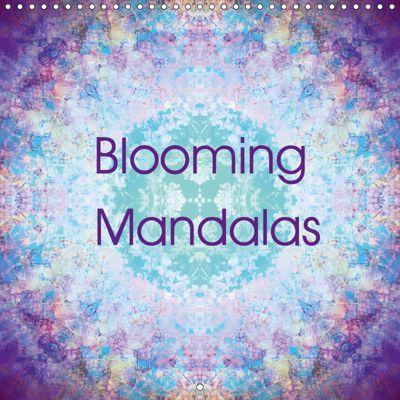 Blooming Mandalas (Wall Calendar 2019 300 × 300 mm Square), Alaya Gadeh