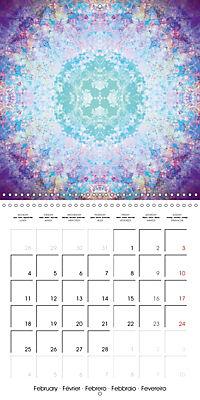 Blooming Mandalas (Wall Calendar 2019 300 × 300 mm Square) - Produktdetailbild 2