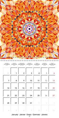 Blooming Mandalas (Wall Calendar 2019 300 × 300 mm Square) - Produktdetailbild 1