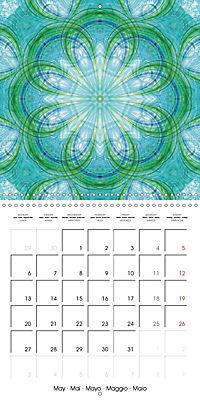 Blooming Mandalas (Wall Calendar 2019 300 × 300 mm Square) - Produktdetailbild 5