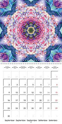 Blooming Mandalas (Wall Calendar 2019 300 × 300 mm Square) - Produktdetailbild 9