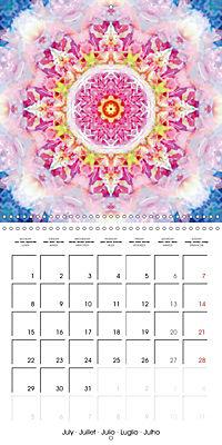 Blooming Mandalas (Wall Calendar 2019 300 × 300 mm Square) - Produktdetailbild 7