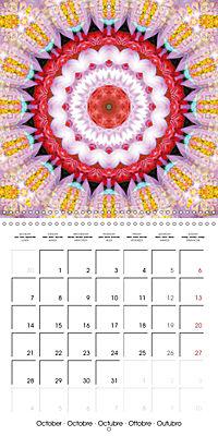 Blooming Mandalas (Wall Calendar 2019 300 × 300 mm Square) - Produktdetailbild 10