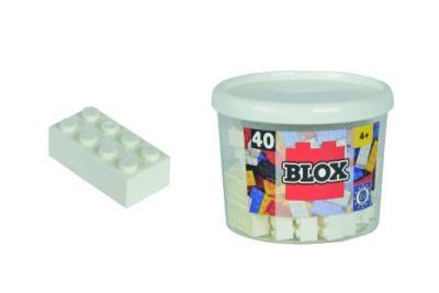 Blox 40 weisse Steine in Dose