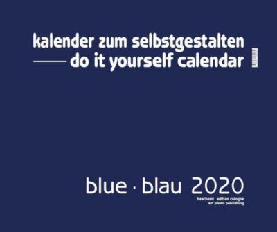 Blue - Blau 2019 - Blanko Gross XL Format, Baback Haschemi