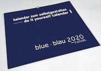Blue - Blau 2019 - Blanko Gross XL Format - Produktdetailbild 14