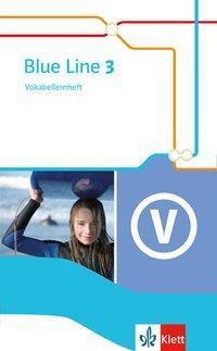Blue Line, Ausgabe 2014: Bd.3 7. Schuljahr, Vokabellernheft