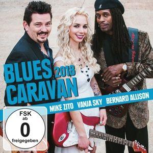 Blues Caravan 2018, Mike Zito, Vanja Sky, Bernard Allison