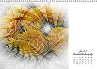 Blüten im Fraktal (Wandkalender 2019 DIN A3 quer) - Produktdetailbild 6