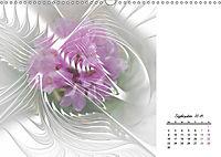 Blüten im Fraktal (Wandkalender 2019 DIN A3 quer) - Produktdetailbild 9
