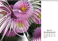 Blüten im Fraktal (Wandkalender 2019 DIN A3 quer) - Produktdetailbild 4