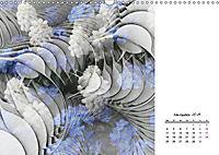 Blüten im Fraktal (Wandkalender 2019 DIN A3 quer) - Produktdetailbild 11
