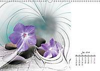 Blüten im Fraktal (Wandkalender 2019 DIN A3 quer) - Produktdetailbild 7