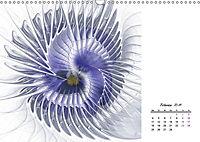 Blüten im Fraktal (Wandkalender 2019 DIN A3 quer) - Produktdetailbild 2