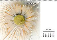 Blüten im Fraktal (Wandkalender 2019 DIN A3 quer) - Produktdetailbild 3