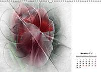 Blüten im Fraktal (Wandkalender 2019 DIN A3 quer) - Produktdetailbild 12