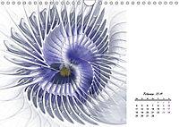 Blüten im Fraktal (Wandkalender 2019 DIN A4 quer) - Produktdetailbild 2