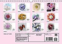 Blüten im Fraktal (Wandkalender 2019 DIN A4 quer) - Produktdetailbild 13