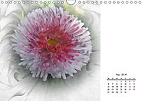 Blüten im Fraktal (Wandkalender 2019 DIN A4 quer) - Produktdetailbild 5