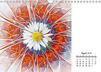 Blüten im Fraktal (Wandkalender 2019 DIN A4 quer) - Produktdetailbild 8