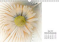 Blüten im Fraktal (Wandkalender 2019 DIN A4 quer) - Produktdetailbild 3