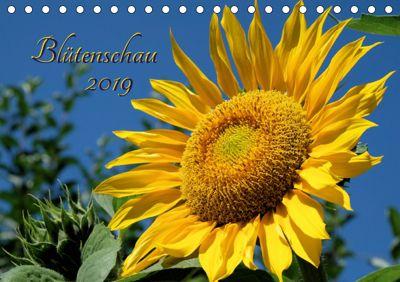 Blütenschau 2019 (Tischkalender 2019 DIN A5 quer), Monika Lutzenberger