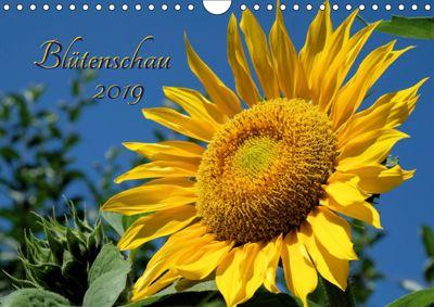 Blütenschau 2019 (Wandkalender 2019 DIN A4 quer), Monika Lutzenberger