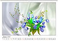 Blumen-Zeichnungen (Wandkalender 2019 DIN A2 quer) - Produktdetailbild 1