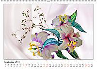 Blumen-Zeichnungen (Wandkalender 2019 DIN A2 quer) - Produktdetailbild 9