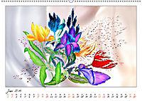 Blumen-Zeichnungen (Wandkalender 2019 DIN A2 quer) - Produktdetailbild 6