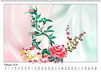 Blumen-Zeichnungen (Wandkalender 2019 DIN A2 quer) - Produktdetailbild 2