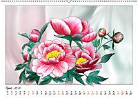 Blumen-Zeichnungen (Wandkalender 2019 DIN A2 quer) - Produktdetailbild 4