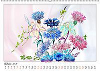Blumen-Zeichnungen (Wandkalender 2019 DIN A2 quer) - Produktdetailbild 10