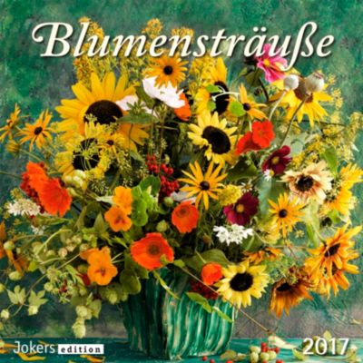 Blumensträusse 2017, Kalender
