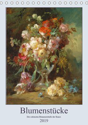 Blumenstücke 2019 (Tischkalender 2019 DIN A5 hoch), ARTOTHEK - Bildagentur der Museen
