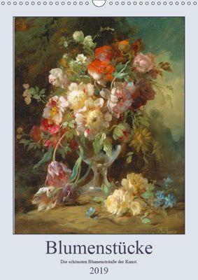 Blumenstücke 2019 (Wandkalender 2019 DIN A3 hoch), ARTOTHEK - Bildagentur der Museen