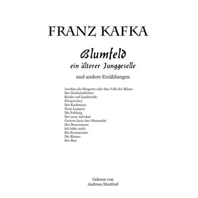 Blumfeld, ein älterer Junggeselle, Franz Kafka