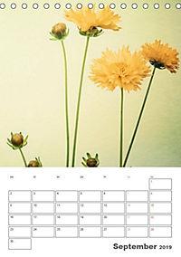 Blumige Fotomalerei (Tischkalender 2019 DIN A5 hoch) - Produktdetailbild 9