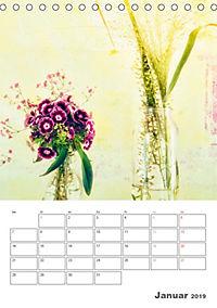 Blumige Fotomalerei (Tischkalender 2019 DIN A5 hoch) - Produktdetailbild 1