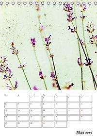Blumige Fotomalerei (Tischkalender 2019 DIN A5 hoch) - Produktdetailbild 5