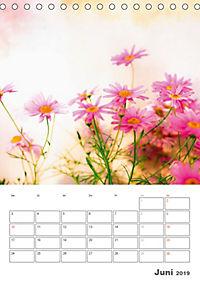 Blumige Fotomalerei (Tischkalender 2019 DIN A5 hoch) - Produktdetailbild 6